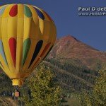 Hot Air Balloon Adventure over Aspen Colorado