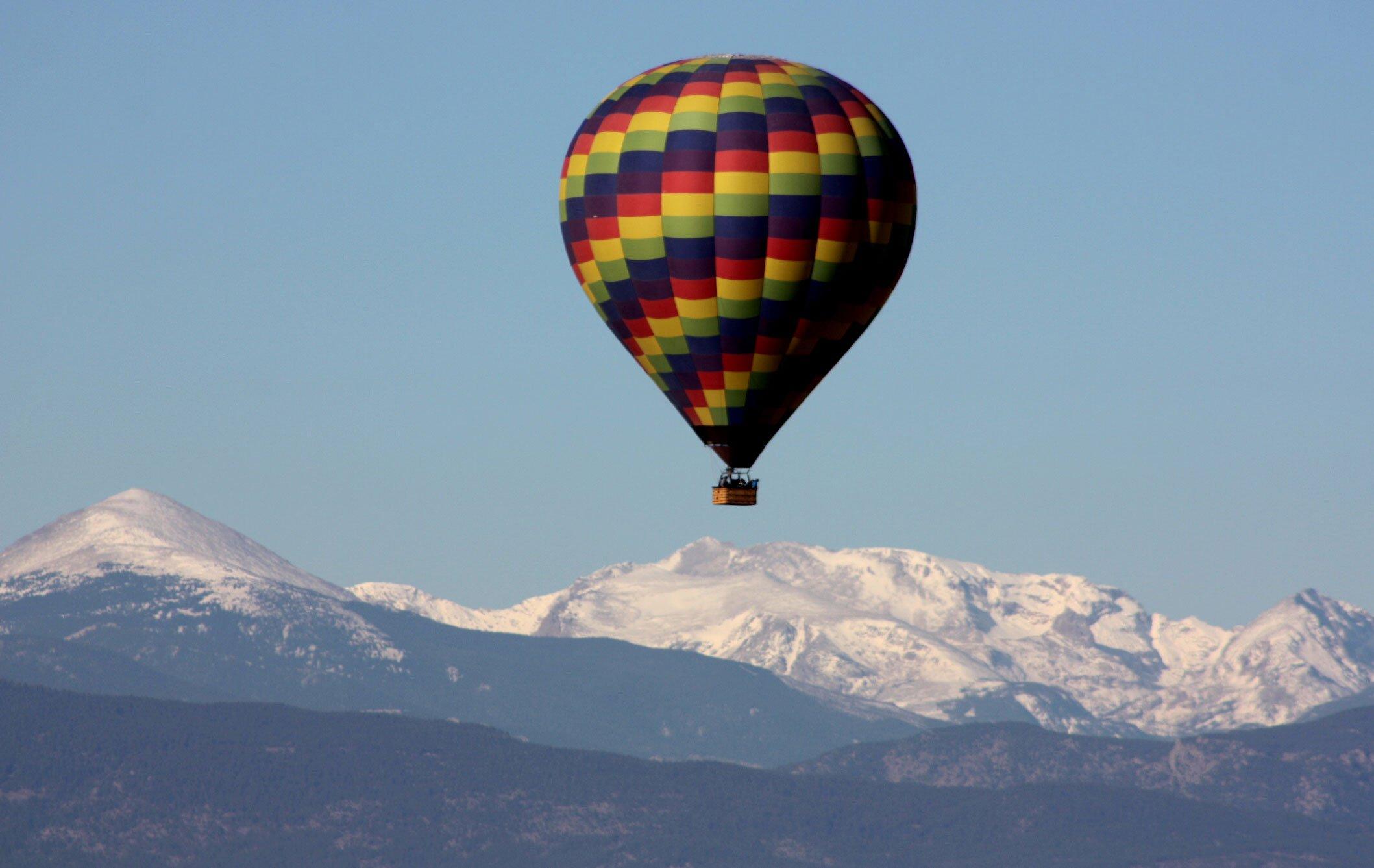 Reservations 187 Hot Air Balloon Rides Colorado