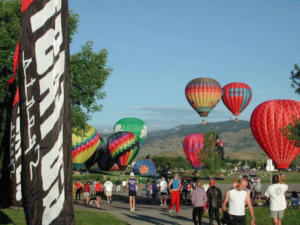 Hot Air Balloons in Boulder, Colorado