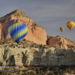 Desert Hot Air Balloon Rides