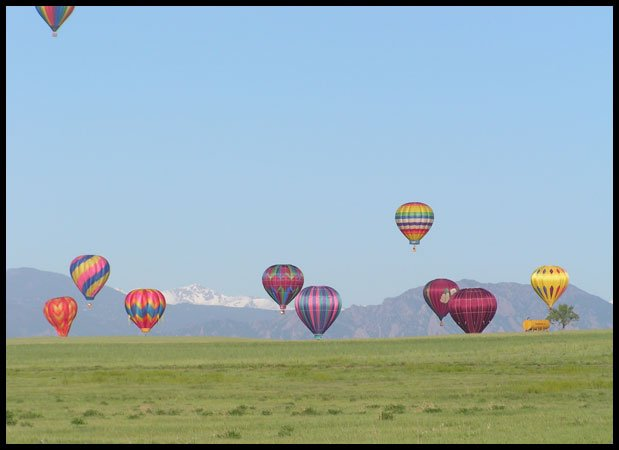 Erie Colorado Hot Air Ballooning