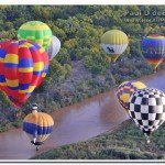 Balloon Rides Over The River
