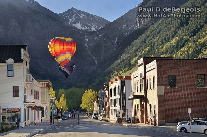 Hot Air Balloon in Telluride Colorado